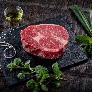 Rib eye steak Black Angus